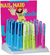 NailMaid 'neon' Display